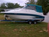 Up for sale is a 249 Sport Cruiser made by Glastron. It