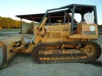 2000 Case 1150G LT bulldozier, with 6 way blade, 4,100