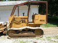 2000 CASE 450C, 4200 hours, Exterior: Yellow, Clean,
