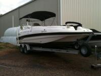 FOR SALE: 2000 Chaparral Sunesta 25' Deck Boat.