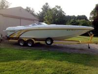 502 Mag, Bravo one, thru hull, 4 blade stainless,