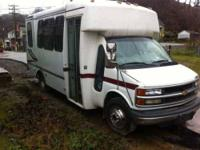 2000 Chevy mini bus 65000 miles on odometer 454 Cub In