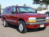 Options Included: Four Wheel Drive, Driver Air Bag,