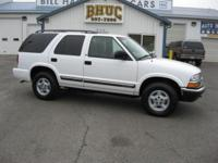 Options Included: N/A2000 CHEVROLET BLAZER 4X4 LS -