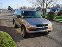 Options Included: Chevy Trail Blazer with LS Package,