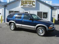 Options Included: N/A2000 CHEVROLET BLAZER LT 4X4 - LOW