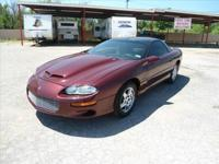 2000 Chevrolet Camaro Z28 Leather Seats 5.7L Very Well