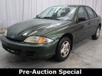 Pre-Auction Car.  This vehicle failed to meet Breakaway