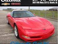 2D Convertible, 5.7L V8 SFI, RWD, Torch Red, and Light