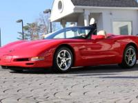 2000 Chevrolet Corvette Convertible *Torch Red Exterior