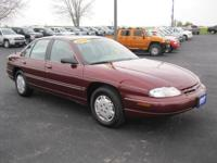 Options Included: N/AThis 2000 Chevy Lumina is a good