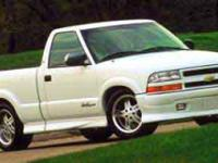 Options:  2000 Chevrolet S-10 Rwd|Summit