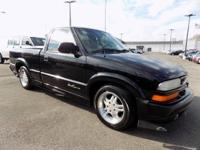 Onyx Black 2000 Chevrolet S-10 LS RWD 5-Speed Manual