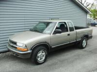 A REAL SHARP S-10 4 WD TRUCK RUNS DRIVES GREAT NICE
