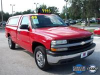 Options Included: AM/FM Radio, Power Steering,