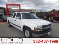 2000 CHEVROLET SILVERADO LS EXTENDED CAB PICK UP TRUCK