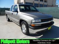 Options Included: N/A2000 Chevy Silverado Extended Cab,
