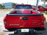 2000 Chevrolet Silverado 1500 Step Side Truck / Red