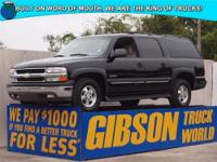 WWW.GIBSONTRUCKWORLD.COM 2000 Chevy Suburban LS Leather