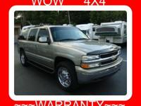 Options Included: Trailer Pkg2000 CHEVY SUBURBAN 4X4 LT