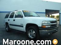 Options Included: Safety Certified Chevy Tahoe With