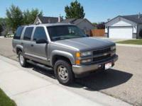 2000 Chevrolet Tahoe SUV This four door, five