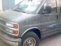 2000 Chevrolet Van for parts only 4 Brothers Auto