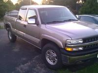 I have a 2000 Chevy 2500 for sale. 4x4 6.0 liter V8