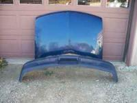 2000 Chevy Blazer GM metal factory hood and valance.