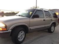 2000 Chevy Blazer 4x4 163000 V6 4.3 automatic Runs and
