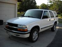2000 Chevy Blazer LS 4-Door 4X4 152k Miles, V6 Engine,