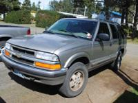 2000 chevy blazer 4.3 liter V6 motor, two package, oil