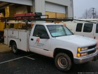 2000 CHEVROLET C3500 TWO WHEEL DRIVE WITH TOOL