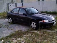 2000 Chevy Cavalier 4 door, 4 cylinder, am/fm cd radio,