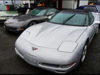 Up for sale we have a 2000 Chevrolet Corvette