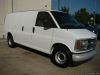 2000 CHEVY EXPRESS CARGO VAN 1500 5.0 L 8CYL LOW MILES
