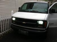 2000 CHEVY EXPRESS VAN THIS ONE IS A 2500 LITTLE OVER