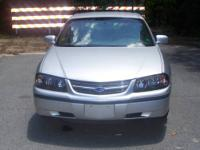This Chevrolet Impala with 162,000 miles has a clear