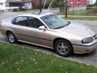 2000 Chevy Impala Ls, 3.8 v6, 63,650 miles, leather,