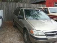 2003 CHEVY VENTURE MINI VAN, EXC. COND. AUTO, FRONT AND