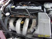 USED 2.4L DOHC ENGINE $500.00 OR BEST RESONABLE CASH