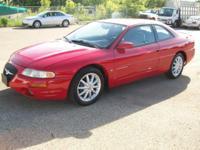 2000 Chrysler Sebring LXI Coupe. 6 cylinder 2.5 L.