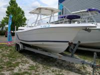 26 ft 2000 Cobia 264 Center Console Year: 2000 Price: $