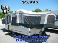 2000 Coleman Camping Trailers Bayside LIGHTWEIGHT