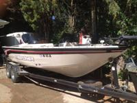 2000 Crestliner 202 Tournament Series with 2007 225 hp