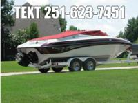 Crownline 18850, 87 total hours on boat, garage kept,