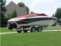 2000 Crownline 18850, 87 total hours on boat, garage