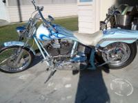 2000 custom chopper with 10000 miles with 88cc motor