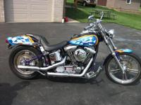 2000 CUSTOM SOFTAIL.....BUILT BY SPIRT HARLEY 13,000