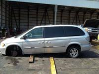 2000 Dodge Caravan 3.3 Liter Engine  ALL BODY PARTS ARE